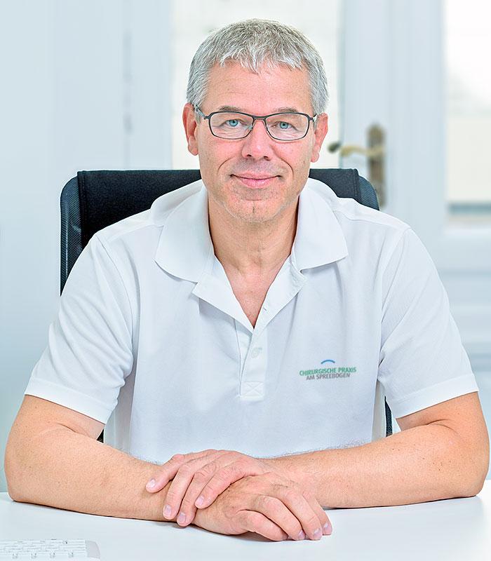 Chirurgische Praxis am Spreebogen – Portrait von Dr. Jörg Müller