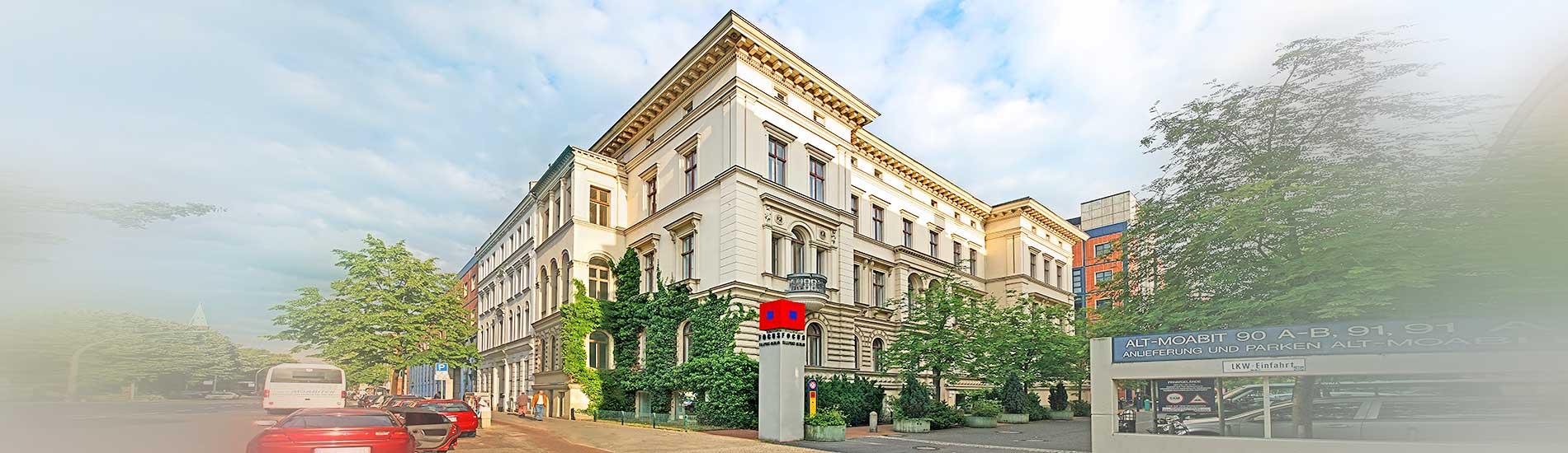 Chirurgische Praxis am Spreebogen – Außenansicht Alt-Moabit 92 10559 Berlin